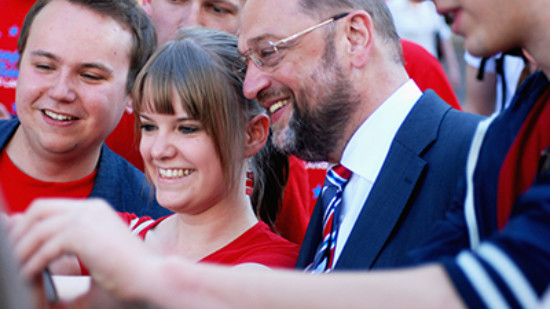 Martin Schulz 2014 in Hannover