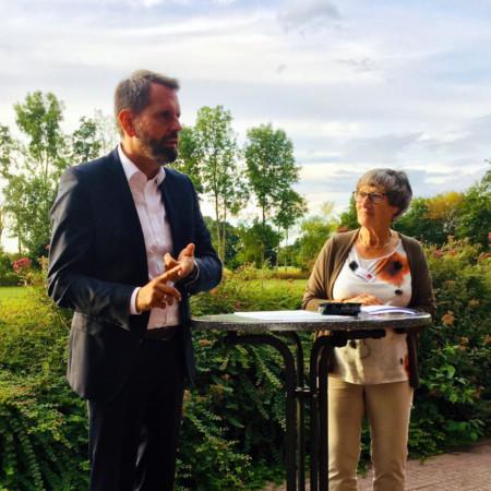 Olaf Lies und Brigitte Netz