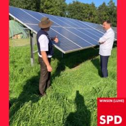Solaranlage von Familie Schmücker