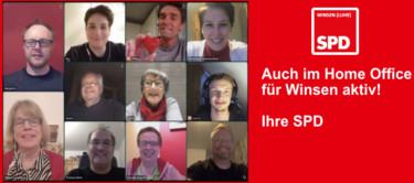 Eure SPD Winsen ist auch im Home Office für Winsen aktiv