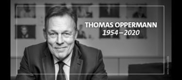 Thomas Oppermann 1954-2020